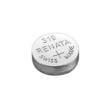 Батарейка Renata 319 (SR527SW, SR527, SR64), 2 шт.