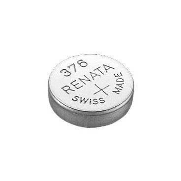 Батарейка Renata 376 (SR626W, SR626, SR66), 3 шт.