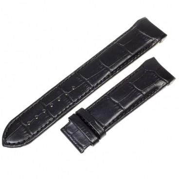 Ремешок Tissot для часов Couturier, черный, 22 мм, XL