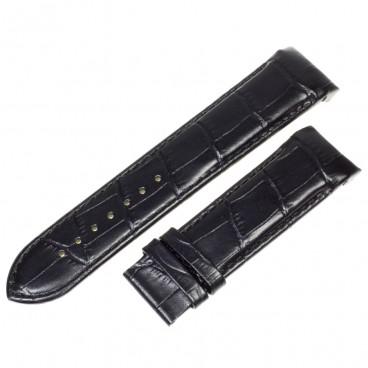 Ремешок Tissot для часов Couturier, 22 мм, черный