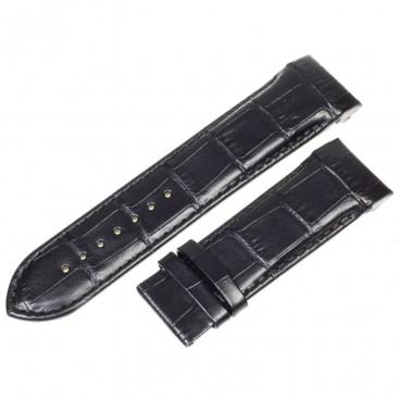 Ремешок Tissot для часов Couturier, 24 мм, черный