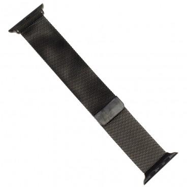 """Миланский браслет """"Milanese loop"""" для Apple Watch 40mm (38mm), черный"""