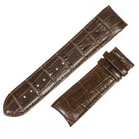 Коричневый ремешок 24 мм для часов Tissot Couturier (совместимый)