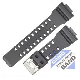 Ремешок CASIO GA-110TS, GA-100C, темно-серый, 10455781
