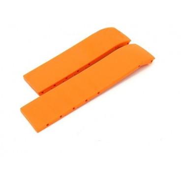 Каучуковый ремешок Tissot для часов T-Race (T372), оранжевый