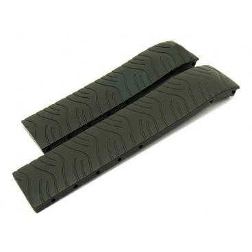 Каучуковый ремешок Tissot для часов T-Race (T372), черный