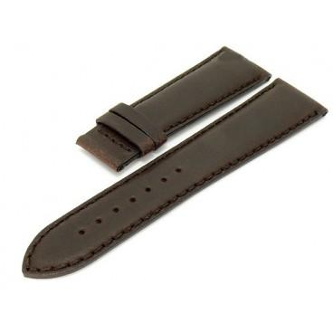 Кожаный ремешок Tissot для часов Quadrato (T005.517A), коричневый