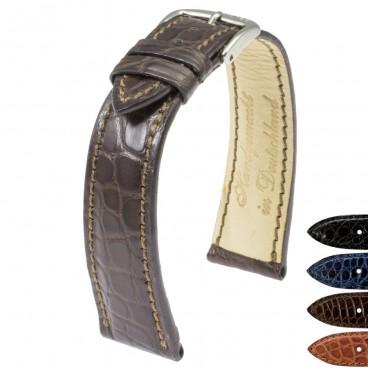 Ремешок для часов RIOS1931 Genuine Alligator Flank толстый
