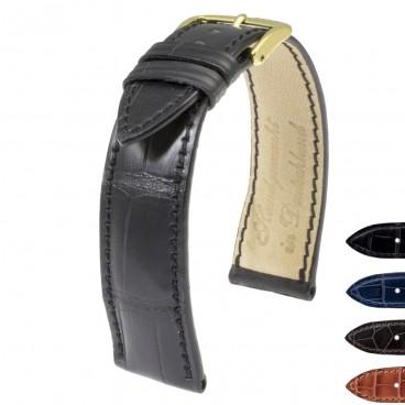 Ремешок для часов RIOS1931 Genuine Alligator Fullcut толстый