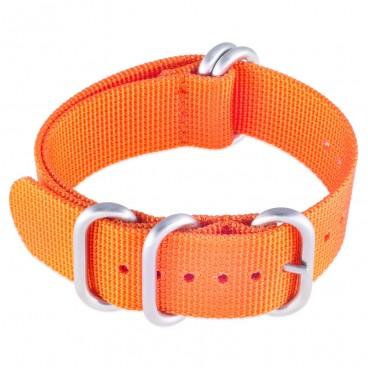 Ремешок ZULU 5 колец оранжевый