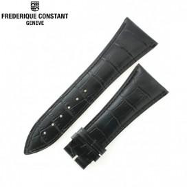 Ремешок Frederique Constant, черный 29 мм
