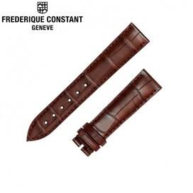 Ремешок Frederique Constant, коричневый 19 мм