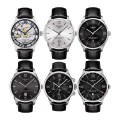 Ремешок Tissot для часов Chemin Des Tourelles, чёрный, 21 мм