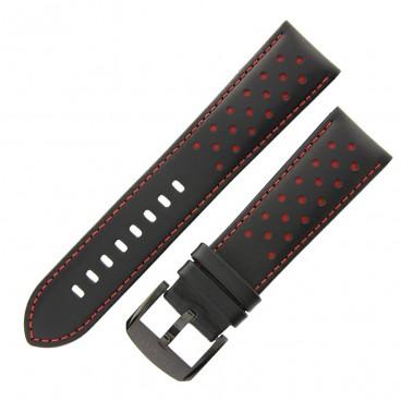Ремешок Tissot для часов Chrono XL, чёрный, 22 мм