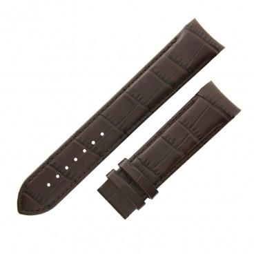 Ремешок Tissot для часов Couturier, коричневый, 22 мм