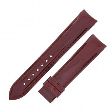 Ремешок Tissot для часов Couturier, красный, 18 мм