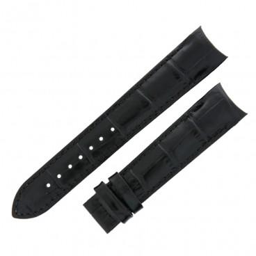 Ремешок Tissot для часов Couturier, чёрный, 18 мм