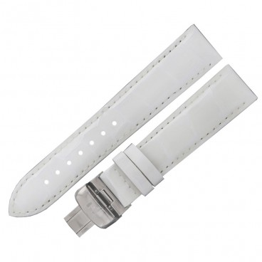 Ремешок Tissot для часов Luxury, белый, 18 мм