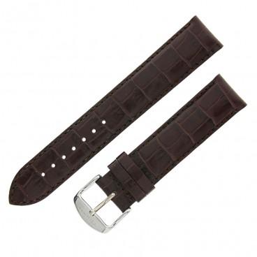 Ремешок Tissot для часов PR 100, коричневый, 19 мм