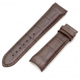 Коричневый ремешок 23 мм для часов Tissot Couturier (совместимый)